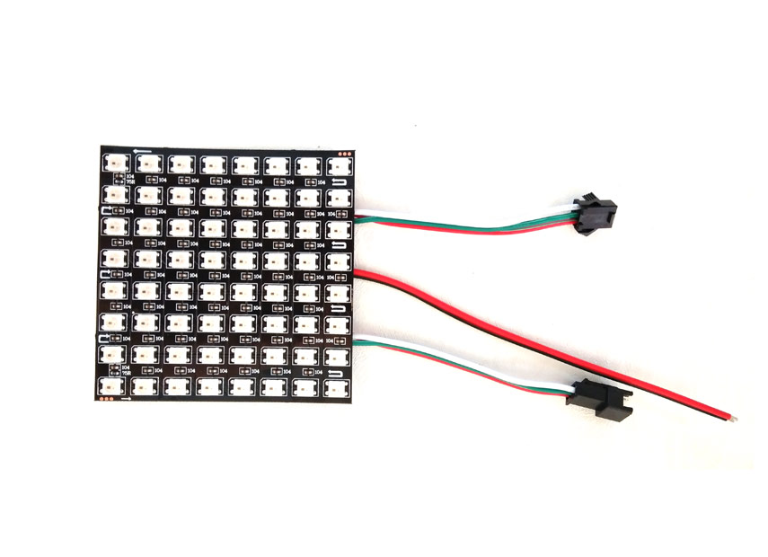 dc5v 8 8 digital flexible control panel  u2013 ws2812b rgb led