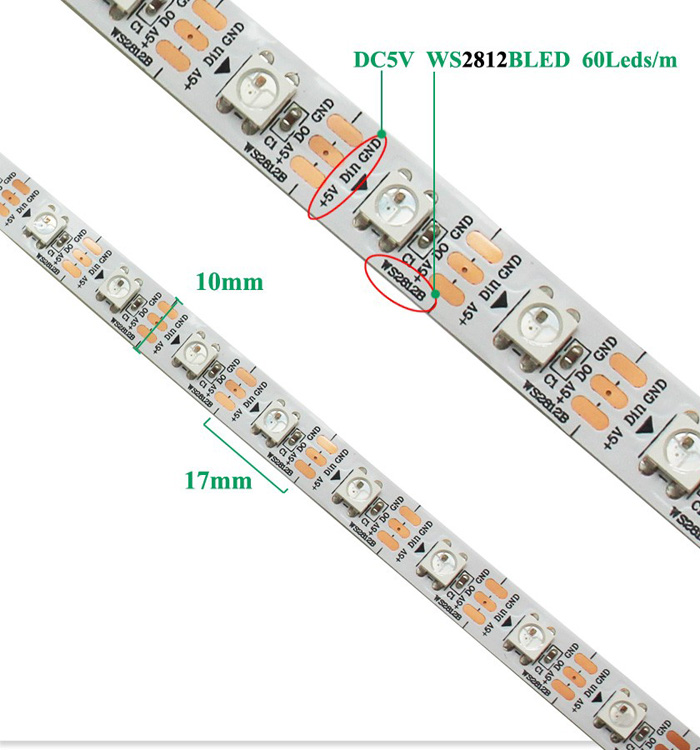 WS2812B Addressable RGB Led Strip Light – witoptech