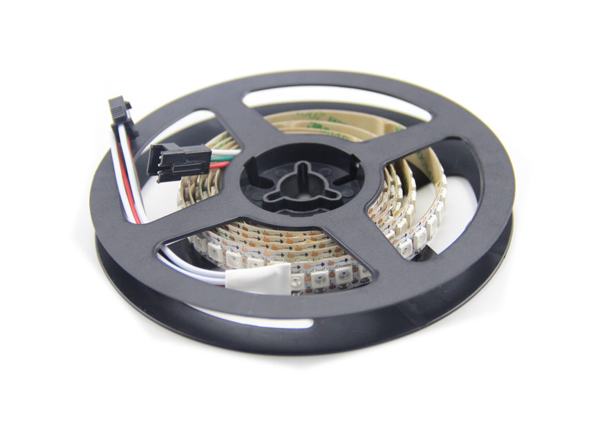 how to connect addressable led strip