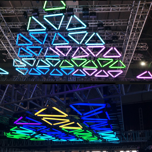 Dmx Led Tube For 3d Objects Professional Stage Lighting Design Witoptech