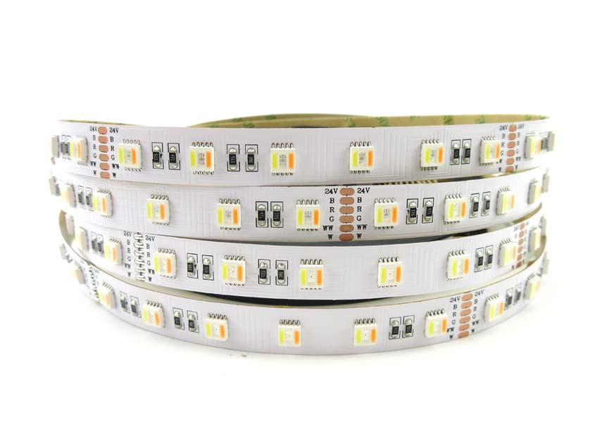 Cct Rgbww 24v 60led 5 Color In One 5050 Led Rgbw Led