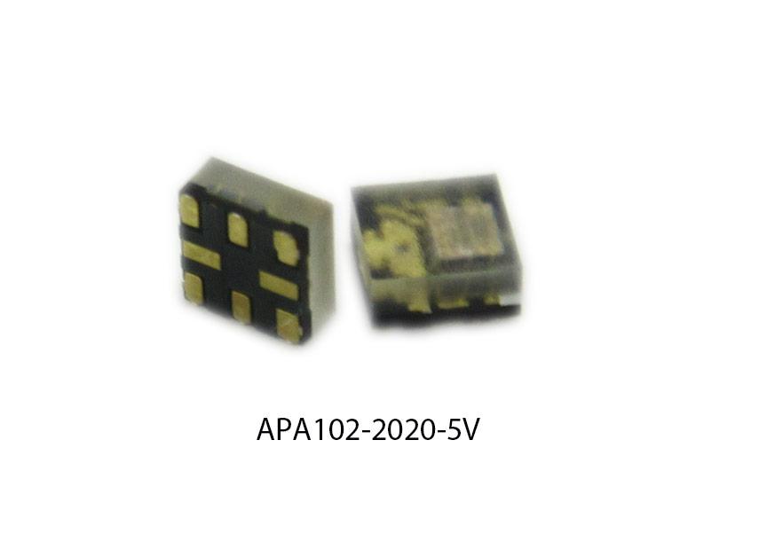 CT Paquete de 5 APA102-2020 RGB LED SMT en paquete 2x2 mm